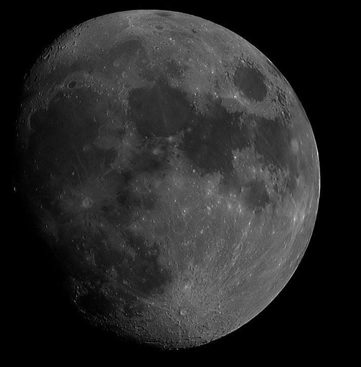 Waxing Gibbous Moon – click to