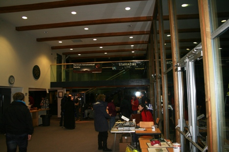 Inside the Foyer of the Performing Arts Centre